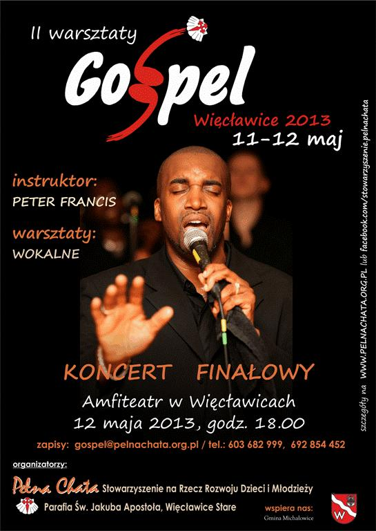Plakat GOSPEL 2013  do internetu2